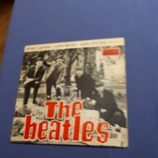 Discos de vinilo: DISCO VINILO SINGLE THE BEATLES. LOVE ME DO. ODEON 1964. Lote 222281161