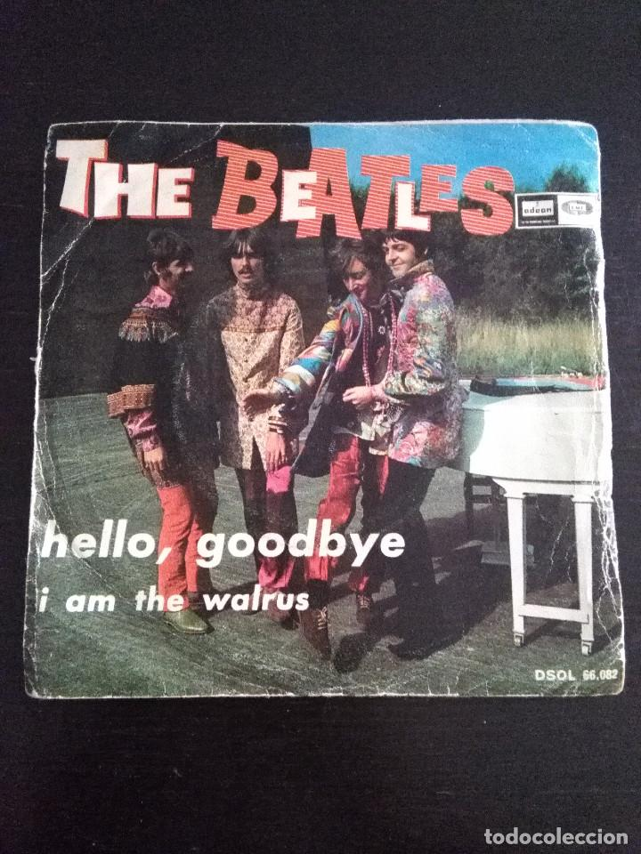 THE BEATLES ---HELLO GOODBYE & I AM THE WALRUS --ORIGINAL 1ª EDICION 1967 (Música - Discos de Vinilo - Maxi Singles - Pop - Rock Extranjero de los 50 y 60)
