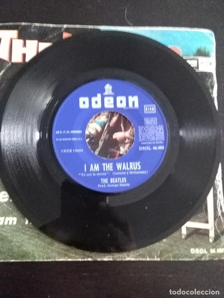 Discos de vinilo: THE BEATLES ---HELLO GOODBYE & I AM THE WALRUS --ORIGINAL 1ª EDICION 1967 - Foto 3 - 222281846
