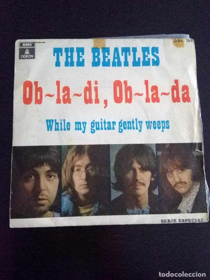 THE BEATLES , OB-LA-DI, OB-LA-DA ED ESPAÑOLA 1969 (Música - Discos de Vinilo - Maxi Singles - Pop - Rock Internacional de los 50 y 60)