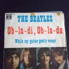 Discos de vinilo: THE BEATLES , OB-LA-DI, OB-LA-DA ED ESPAÑOLA 1969. Lote 222283366
