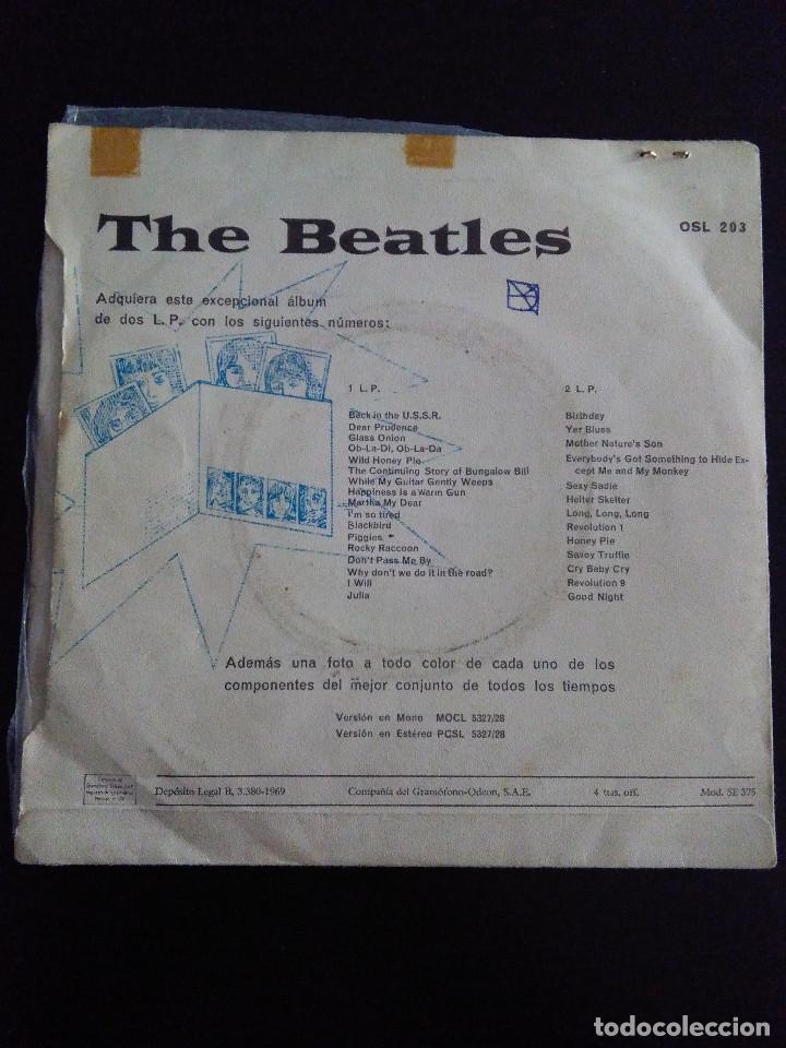 Discos de vinilo: THE BEATLES , OB-LA-DI, OB-LA-DA ED ESPAÑOLA 1969 - Foto 2 - 222283366