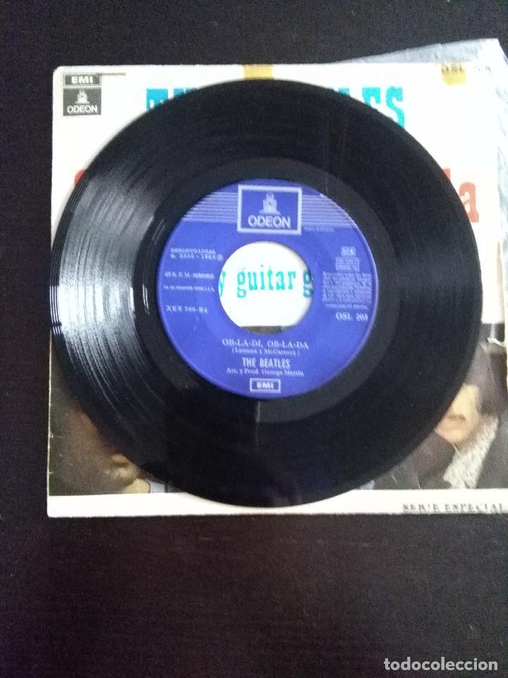 Discos de vinilo: THE BEATLES , OB-LA-DI, OB-LA-DA ED ESPAÑOLA 1969 - Foto 3 - 222283366