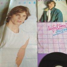 Discos de vinilo: LP. MIGUEL BOSE CHICAS.1979 CBS S 86089.COMPLETO CONTIENE EL POSTER GIGANTE Y EL ENCARTE CON LETRAS.. Lote 222285510