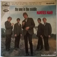 Discos de vinilo: MANFRED MANN. THE ONE IN THE MIDDLE/ WATERMELON MAN/ WHAT AM I TO DO/ WITH GOD ON OUR SIDE. UK 1965. Lote 222289313