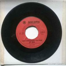 Discos de vinilo: ILA VAN. CANT HELP LOVING THAT MAN OF MINE/ IVE GOT THE FEELING. ROULETTE, HOLLAND 1967 SINGLE. Lote 222290357