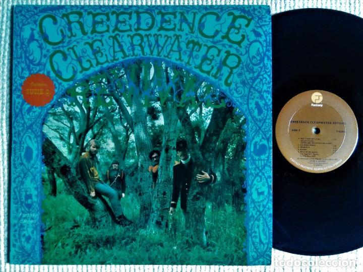 """CREEDENCE CLEARWATER REVIVAL - """" S/T """" LP REISSUE USA 198? (Música - Discos - LP Vinilo - Pop - Rock Extranjero de los 50 y 60)"""