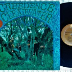 "Discos de vinilo: CREEDENCE CLEARWATER REVIVAL - "" S/T "" LP REISSUE USA 198?. Lote 222290508"