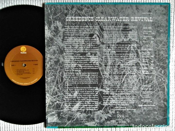 "Discos de vinilo: CREEDENCE CLEARWATER REVIVAL - "" S/T "" LP REISSUE USA 198? - Foto 2 - 222290508"
