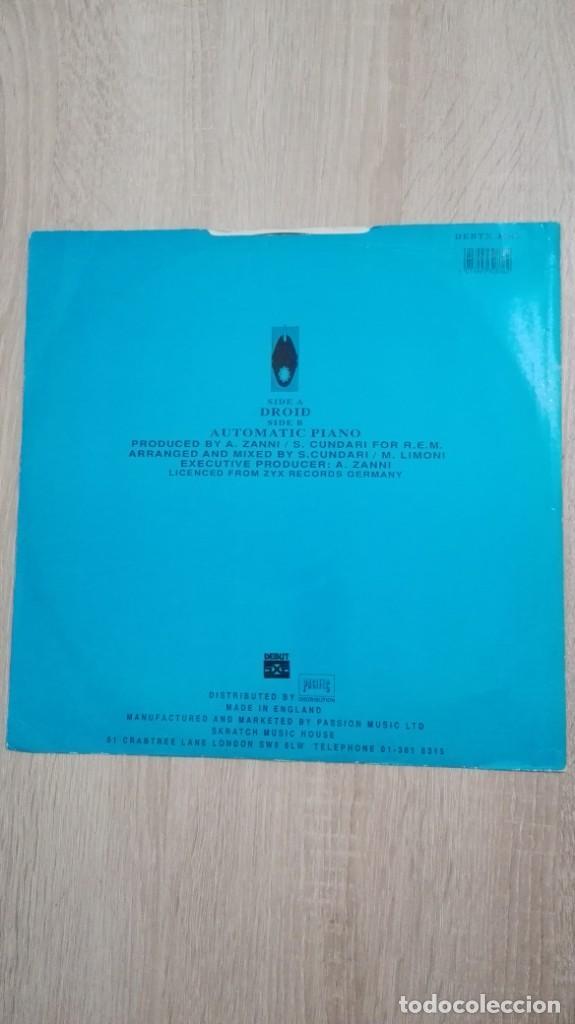 "Discos de vinilo: DROID-HIPNOSIS-VINILO 12"" MAXI-SINGLE 45 RPM-DEBUT-INGLATERRA-AÑO 1990.IMPORT.TEMAZO RUTA VALENCIA - Foto 2 - 222295727"