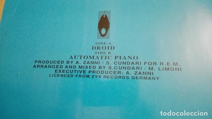 "Discos de vinilo: DROID-HIPNOSIS-VINILO 12"" MAXI-SINGLE 45 RPM-DEBUT-INGLATERRA-AÑO 1990.IMPORT.TEMAZO RUTA VALENCIA - Foto 3 - 222295727"