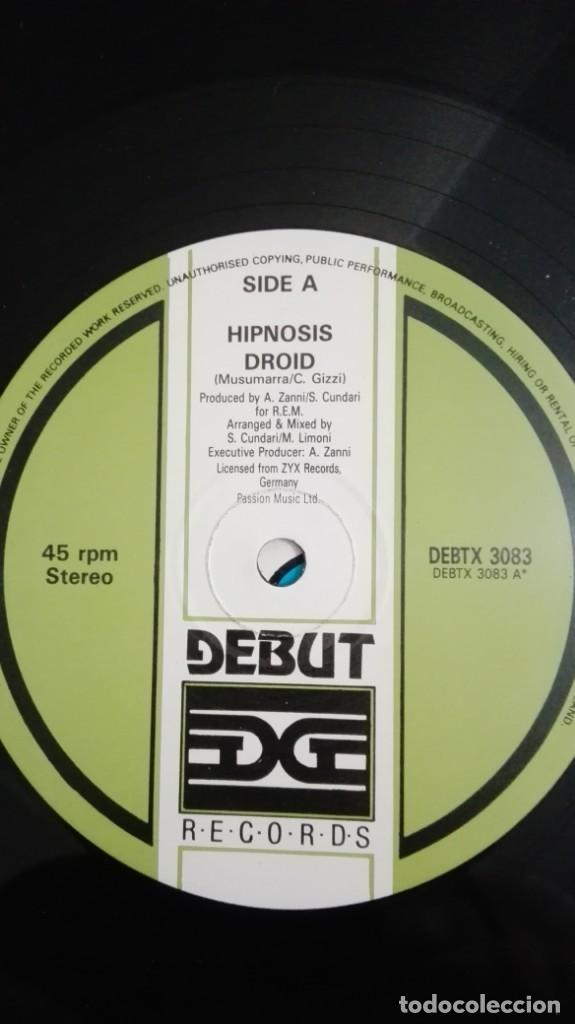 "Discos de vinilo: DROID-HIPNOSIS-VINILO 12"" MAXI-SINGLE 45 RPM-DEBUT-INGLATERRA-AÑO 1990.IMPORT.TEMAZO RUTA VALENCIA - Foto 5 - 222295727"