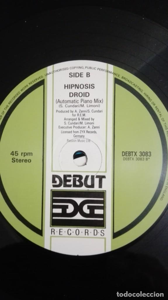 "Discos de vinilo: DROID-HIPNOSIS-VINILO 12"" MAXI-SINGLE 45 RPM-DEBUT-INGLATERRA-AÑO 1990.IMPORT.TEMAZO RUTA VALENCIA - Foto 6 - 222295727"