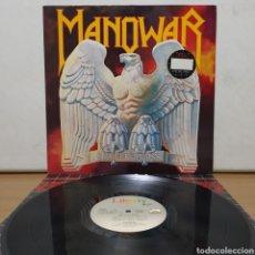 Discos de vinilo: MANOWAR - BATTLE HYMNS 1987 ( 1982 ) ED HOLANDESA. Lote 222297551