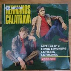 Discos de vinilo: 43000 - HERMANOS CALATRAVA - ALELUYA Nº 2 + 3 CANCIONES - AÑO 1969. Lote 222302272