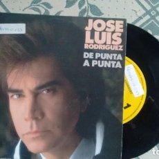 Discos de vinilo: SINGLE (VINILO) -PROMOCION-DE JOSE LUIS RODRIGUEZ AÑOS 90. Lote 222302973