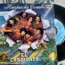 Discos de vinilo: SINGLE ( VINILO) DE HUAPACHA COMBO AÑOS 80. Lote 222303095