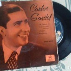 Discos de vinilo: EP ( VINILO) DE CARLOS GARDEL AÑOS 50. Lote 222303665