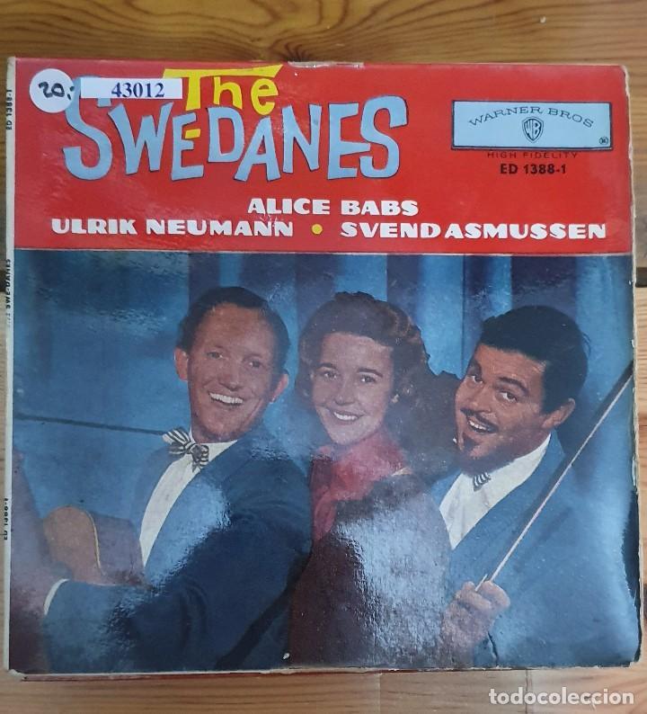 43012 - THE SWEDANES - GEORGIA CAMP MEETING + 3 CANCIONES - AÑO 1962 (Música - Discos - Singles Vinilo - Country y Folk)