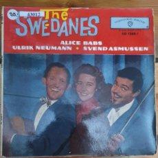 Discos de vinilo: 43012 - THE SWEDANES - GEORGIA CAMP MEETING + 3 CANCIONES - AÑO 1962. Lote 222303702