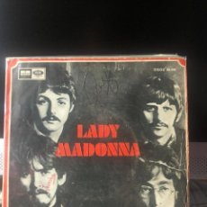 Discos de vinilo: THE BEATLES - LADY MADONNA. Lote 222307377