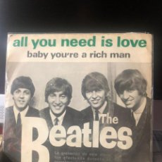 Discos de vinilo: THE BEATLES - ALL YOU NEED IS LOVE. Lote 222308098
