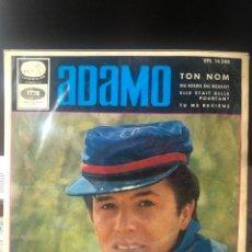 Discos de vinilo: ADAMO - TOM NOM. Lote 222308531