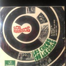 Discos de vinilo: LOS BRAVOS - LOS CHICOS CON LAS CHICAS. Lote 222309195