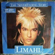 """Discos de vinilo: LIMAHL - THE NEVERENDING STORY - BANDA SONORA DE LA PELÍCULA """"LA HISTORIA INTERMINABLE"""" SINGLE1984. Lote 222311363"""