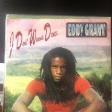 Discos de vinilo: EDDY GRANT - I DON'T WANNA DANCE. Lote 222311867