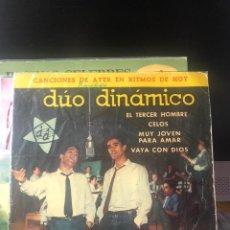 Discos de vinilo: DÚO DINÁMICO - EL TERCER HOMBRE. Lote 222312207