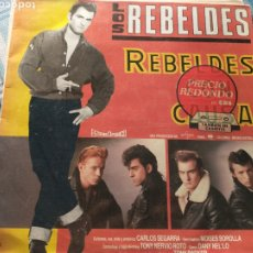 Discos de vinilo: REBELDES LP. Lote 222313566