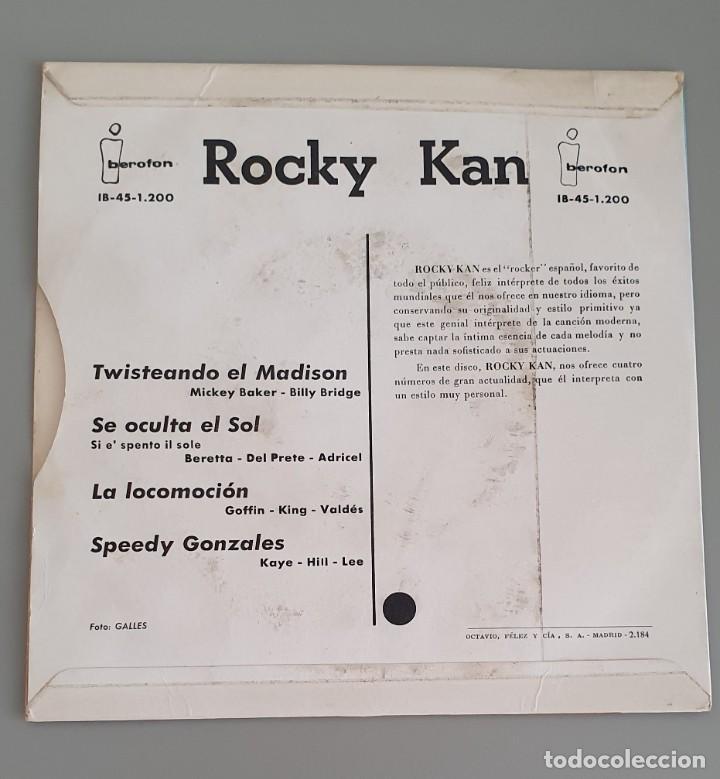 Discos de vinilo: Rocky Kan. Twisteando el Madison - Foto 2 - 222314517