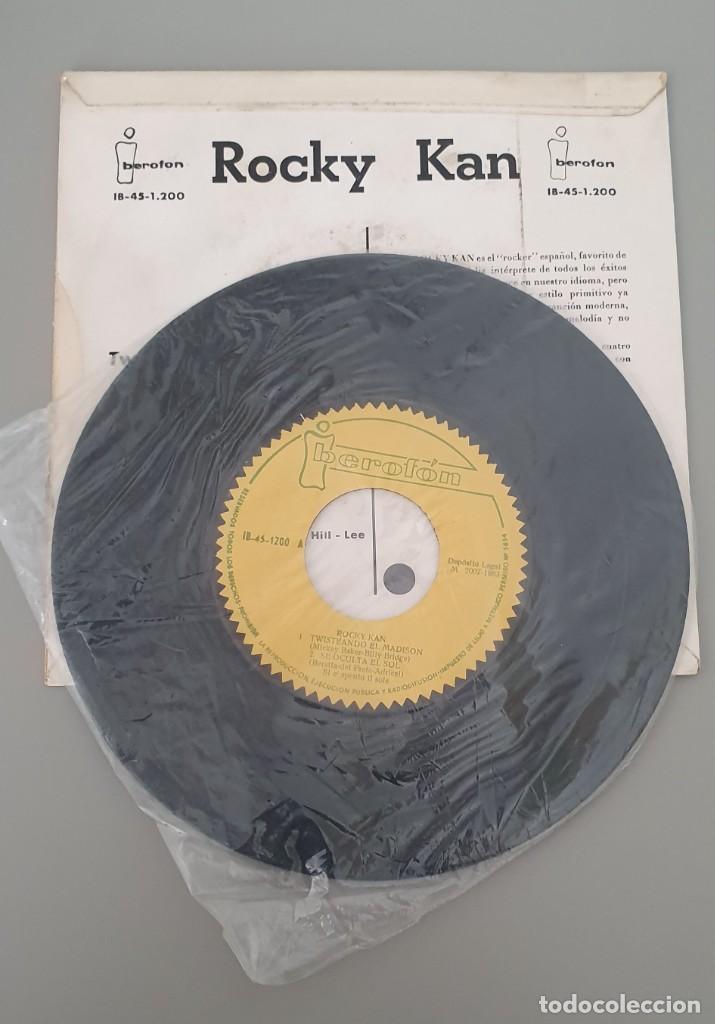 Discos de vinilo: Rocky Kan. Twisteando el Madison - Foto 3 - 222314517