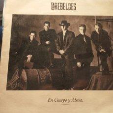 Discos de vinilo: REBELDES LP. Lote 222314610