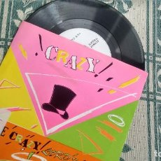 Discos de vinilo: SINGLE (VINILO) DE THE CRAZY LORDS AÑOS 80. Lote 222314902
