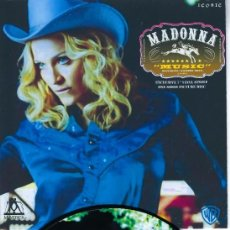 Discos de vinilo: MADONNA 7 INCH VINYL SINGLE MUSIC UNIQUE PICTURE SLEEVE ONE SIDED PICTURE DISC.. Lote 222329548