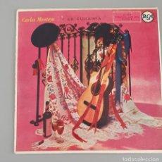 Discos de vinilo: CARLOS MONTOYA Y SU GUITARRA. EP 1959 RCA. Lote 222329582