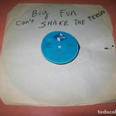 Discos de vinilo: BIG FUN - CAN`T SHAKE THE FEELING .. MAXISINGLE - 1989 - JIVE. Lote 222332106