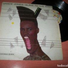 Discos de vinilo: GRACE JONES - SLAVE TO THE RHYTHM ..MAXISINGLE - EXTENDED DEL AÑO 1985. Lote 222332750