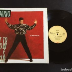 """Discos de vinilo: DARIO GET TO KNOW THE WORLD - EXTENDED 12"""" GERMANY. Lote 222333653"""