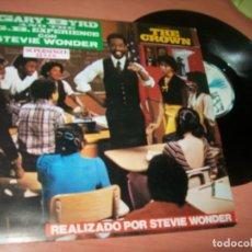 Discos de vinilo: GARY BYRD AND THE G.B.EXPERIENCE CON STEVIE WONDER - THE CROWN ..MAXISINGLE DE 1983. Lote 222333793