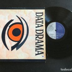 "Discos de vinilo: DATA DRAMA CLOSE YOUR EYES - EXTENDED 12"" GERMANY. Lote 222333998"