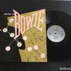 """Discos de vinilo: DAVID BOWIE LET'S DANCE - EXTENDED 12"""" USA. Lote 222334655"""