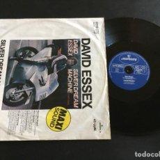 """Discos de vinilo: DAVID ESSEX SILVER DREAM MACHINE - MAXI SINGLE 12"""" GERMANY. Lote 222335962"""