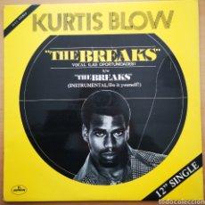 Discos de vinilo: KURTIS BLOW - THE BREAKS - MUY BUEN ESTADO. Lote 222336758