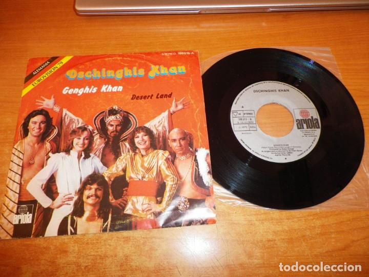 DSCHINGHIS KHAN GENGHIS KHAN EUROVISION ALEMANIA 1979 SINGLE VINILO 1979 ESPAÑA 2 TEMAS (Música - Discos - Singles Vinilo - Festival de Eurovisión)