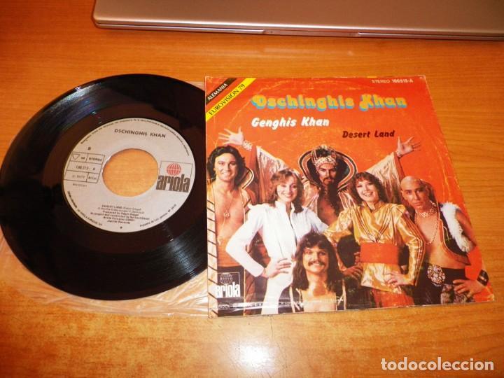 Discos de vinilo: DSCHINGHIS KHAN Genghis khan EUROVISION ALEMANIA 1979 SINGLE VINILO 1979 ESPAÑA 2 TEMAS - Foto 2 - 222337302