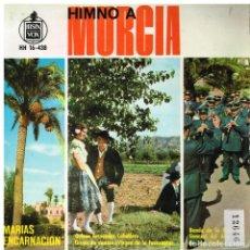 Discos de vinilo: HIMNO A MURCIA - EP 1963. Lote 222338506