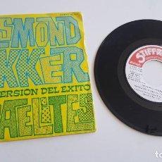 Discos de vinilo: DESMOND DEKKER SINGLE ISRAELITES Y WHY FIGHT?. Lote 222344020